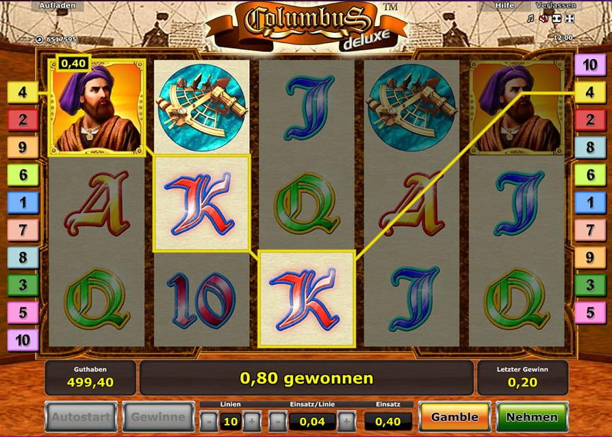 Slot Columbus Gratis Spielen